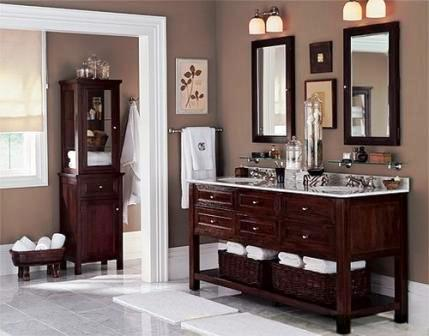 21 Bathroom Decorating/Makeover Ideas : Home Interiors Blog