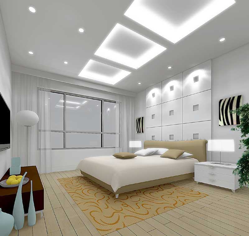 classic bedroom design white
