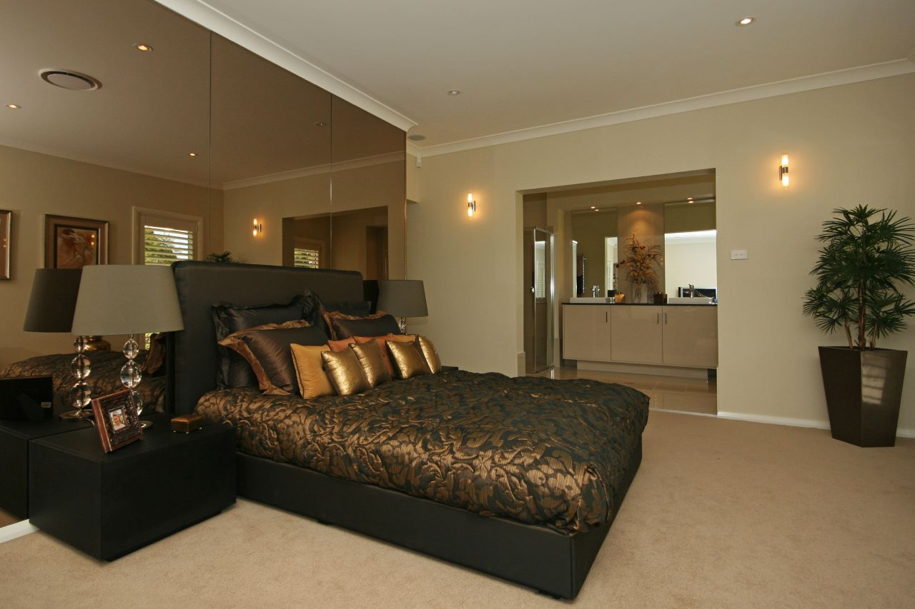 ideas and bedroom design gold classic