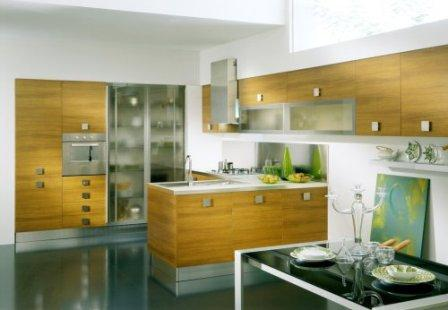 kitchen interior accent design