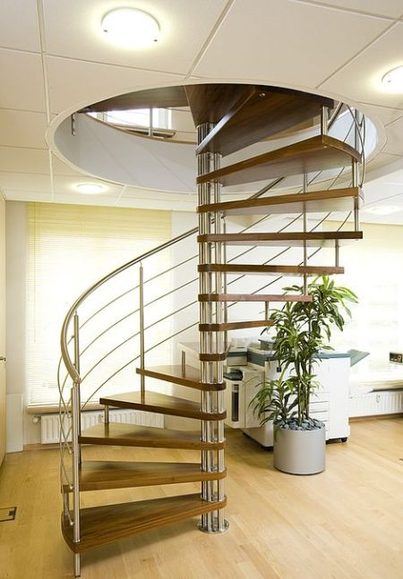 15 creative and modern staircase designs and ideas home for Spiral stair design