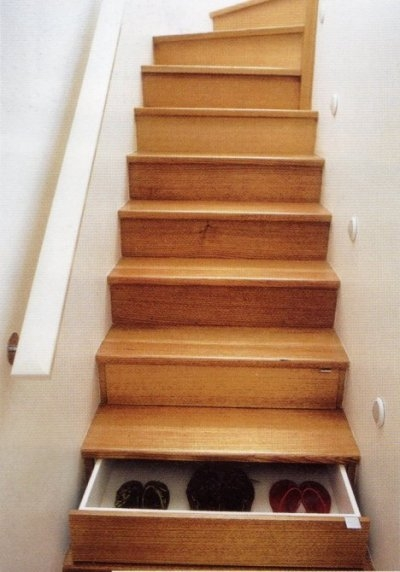 storage staircase