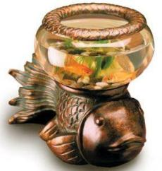 Bronze Fish Bowl