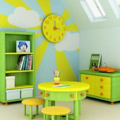 Kids Room Decorating Ideas on Wonderful Tips For Decorating Your Kid   S Room Lovely And