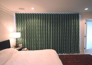 curtains in each room