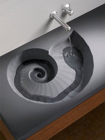 concrete washbasin