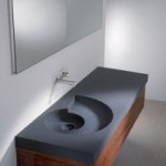 Concrete Washbasin To Give An Extraordinary Look