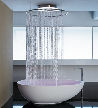 waterfall bathtub