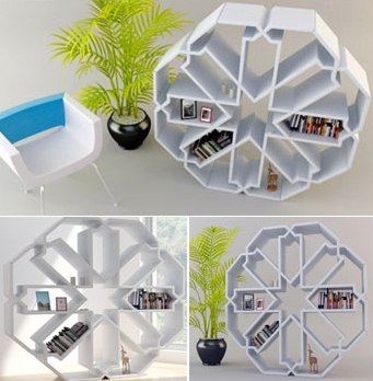 bibliotheque zelli bookcase