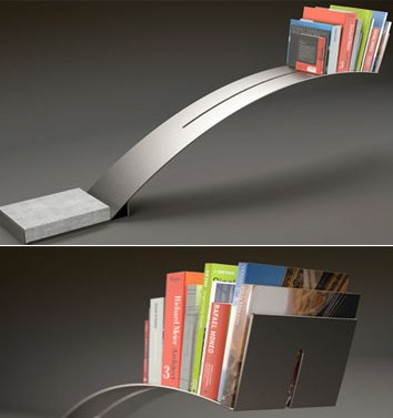 cantilever bookshelf