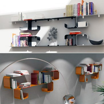 dimensional shelves
