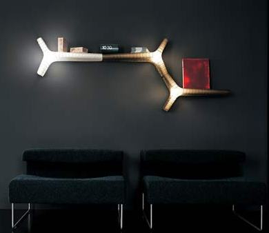 yet wall light bookshelf