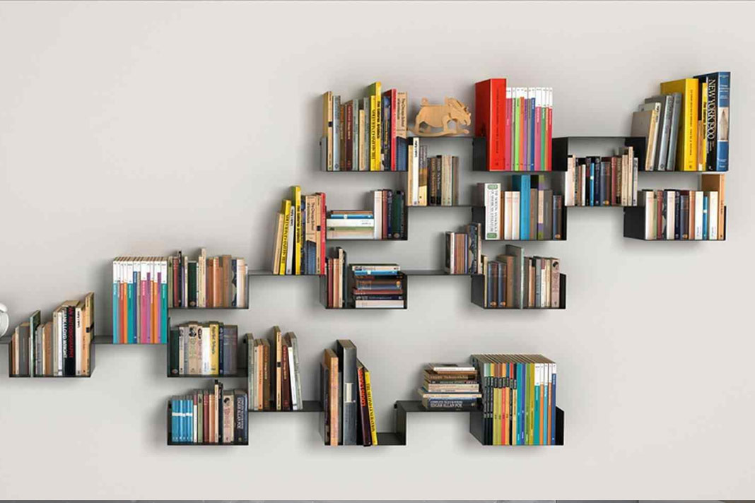 31 Modern And Creative Book Shelves   Bookshelf Ideas | Home Interiors Blog