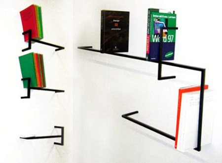 quattro line bookshelf