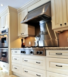 Look In Today S Designer Kitchens. Cabinetry Blends Materials, Colors And Finishes To Add Interest, photo - 3