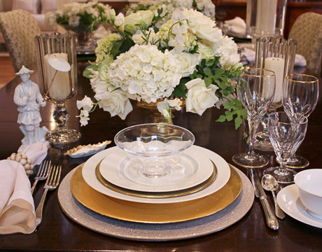 15 Designer Place Settings With Basic White China Home