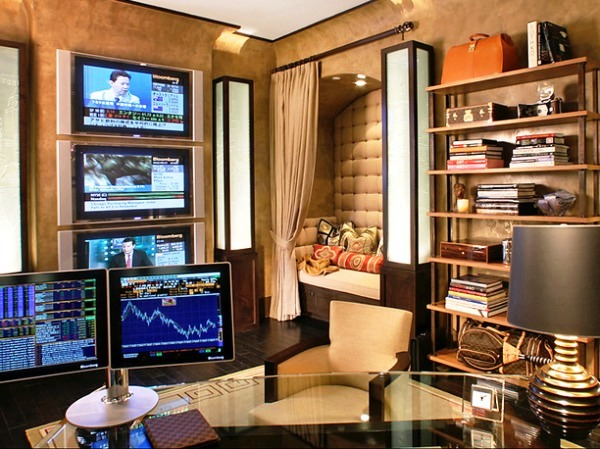 30 innovative home office designs for a cozy business for Best home office design ideas