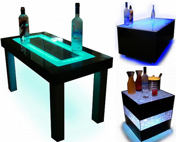 Light Up The Furniture For A Disco Effect