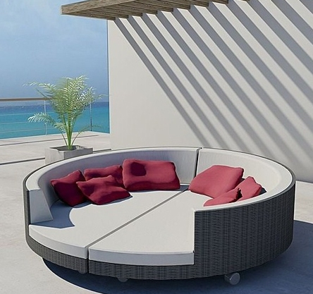 The right home accessory to spend a day in the sun home interiors blog - Gartenliege modern ...