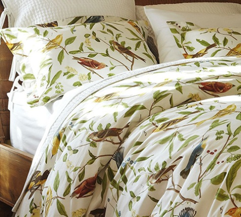 Bird Motif Bedding 1