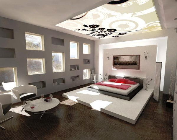 21 Modern and Stylish Bedroom Designs You Are Dreaming Of ! : Home