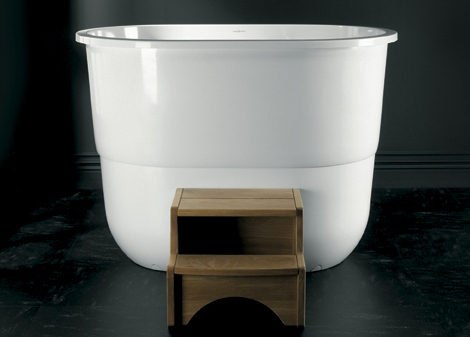 japanese sit bath tub