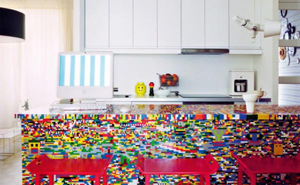The Lego Kitchen Island 01