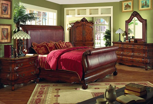 leather furnishings