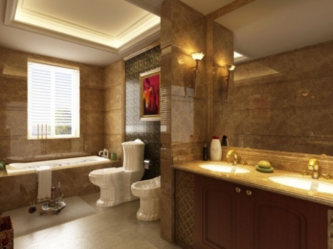 5 tips on shopping for bathroom lights home interiors blog for Model bathrooms pictures