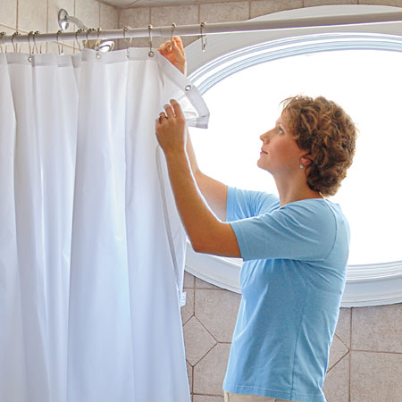 Curtains Ideas cleaning shower curtain : 15 Brilliant Uses For Hydrogen Peroxide You Can't Miss Out On
