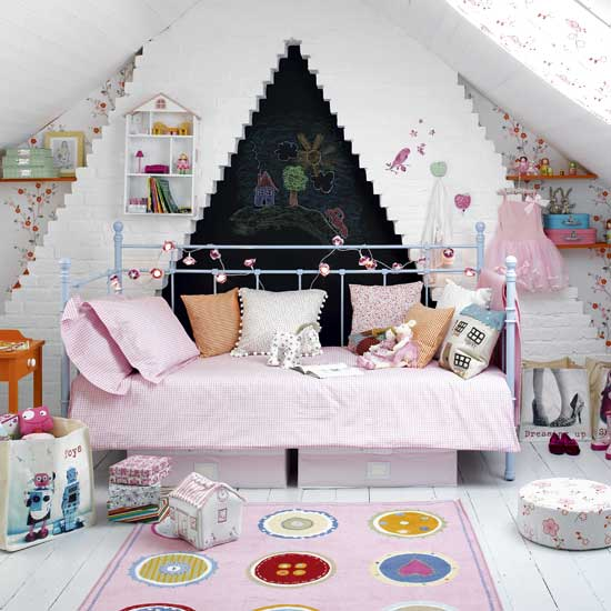 Create a dream bedroom for your little girl home for Make your dream bedroom