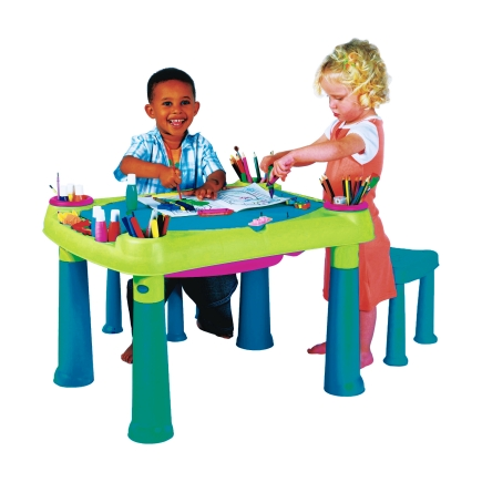 Paint-Table-Stool-set