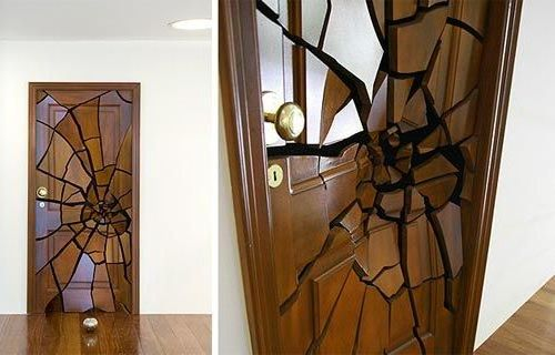 shattering door - Door Design Ideas