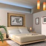 Light colored walls