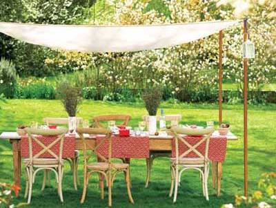 Summer Outdoor Dining