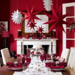 Christmas Decorating Ideas for Dinner Tables
