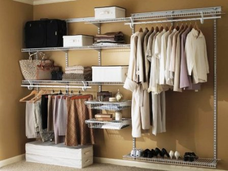 Closet Design Ideas Wire Racks