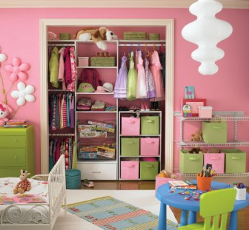 Closet Design Ideas for Kids