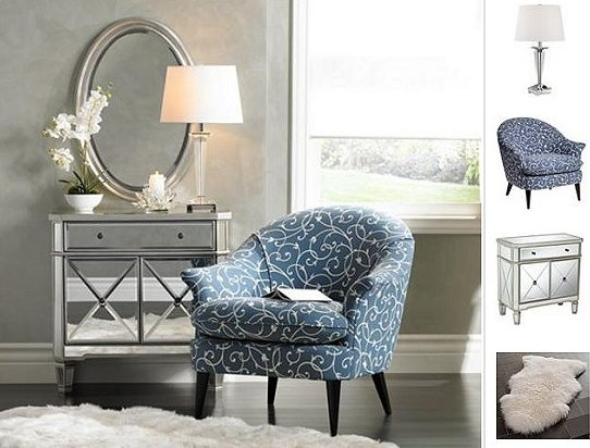 Mirrored Furniture Decorating Tips