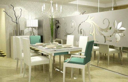 White Dining Room Decorating Ideas