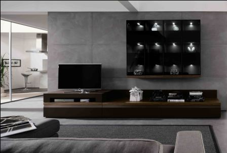 Modern TV Wall Units for Living Room