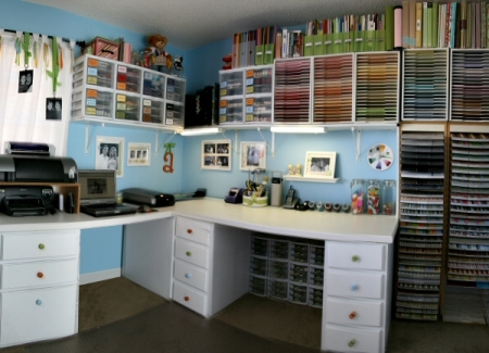 Crafts Room Organizing Tips