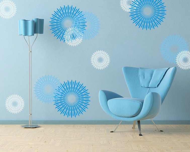 33 Wall Painting Designs To Make Your Living Room Luxurious