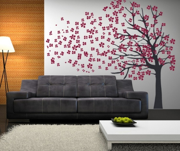 33 Wall Painting Designs To Make Your Living Room Luxurious Part 49