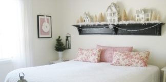 winter bedroom decoration