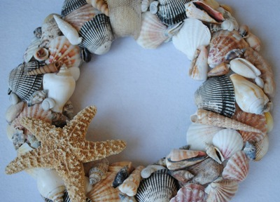 Shells and Stockings for the Mantelpiece