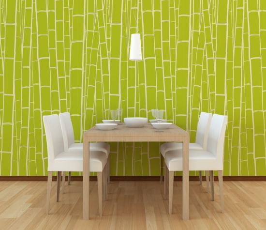 picking out attractive wallpaper