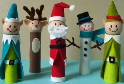 DIY Recycling Christmas Crafts