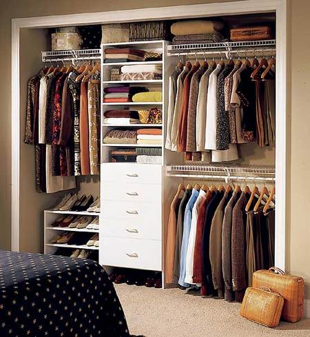 make the most out of a small closet - Closet Design For Small Closets
