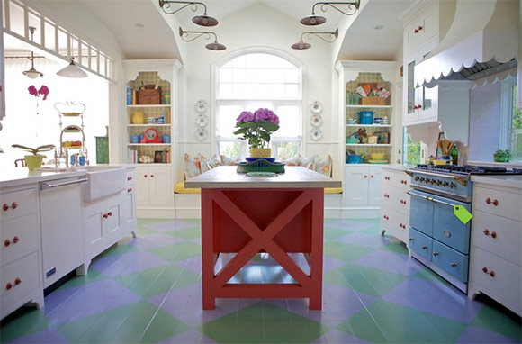 Colorful Floors with Interesting Designs